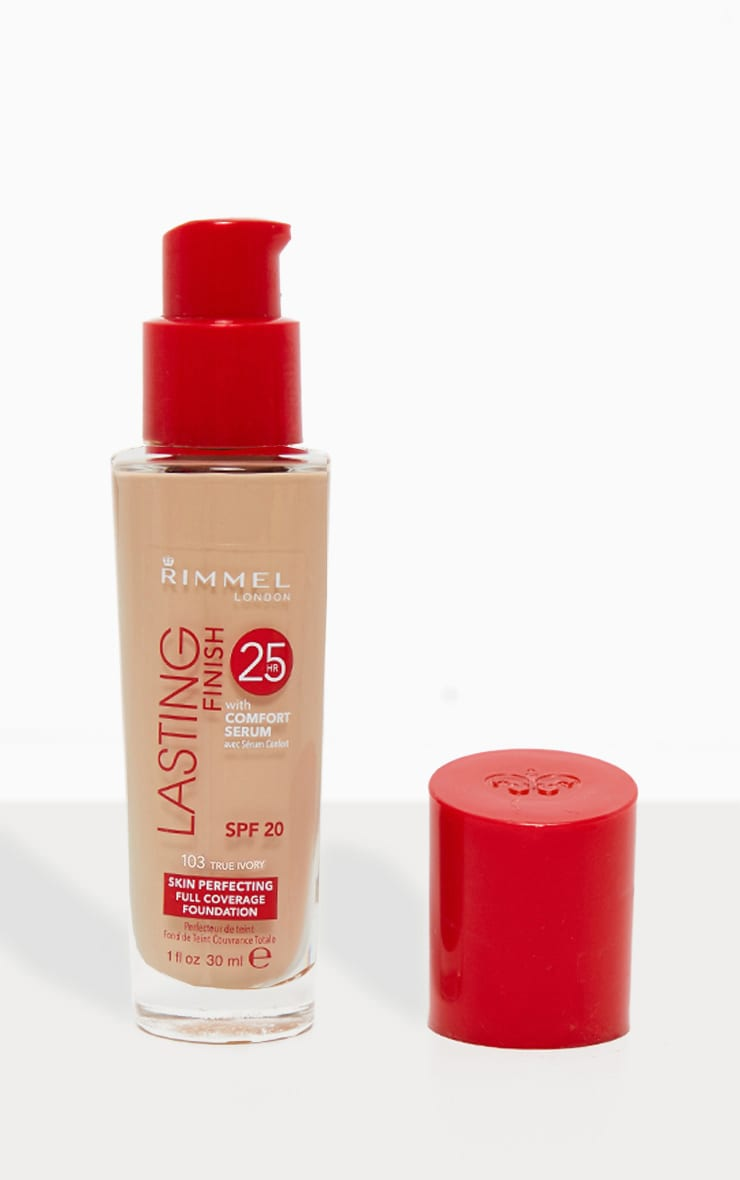 Rimmel Lasting Finish 25 Hour Foundation 103 True Ivory 1