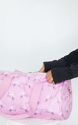 PRETTYLITTLETHING Unicorn Pink Gym Bag 3