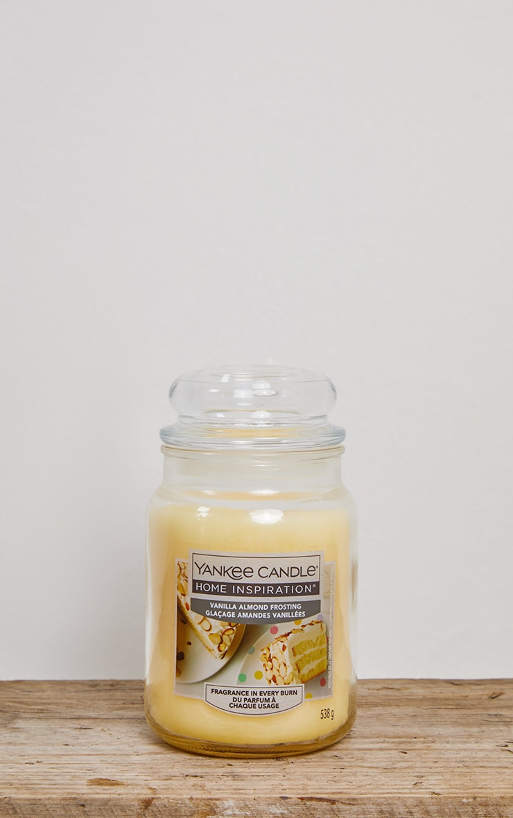 Yankee Candle Home Inspiration Large Jar Vanilla Almond Frosting 3