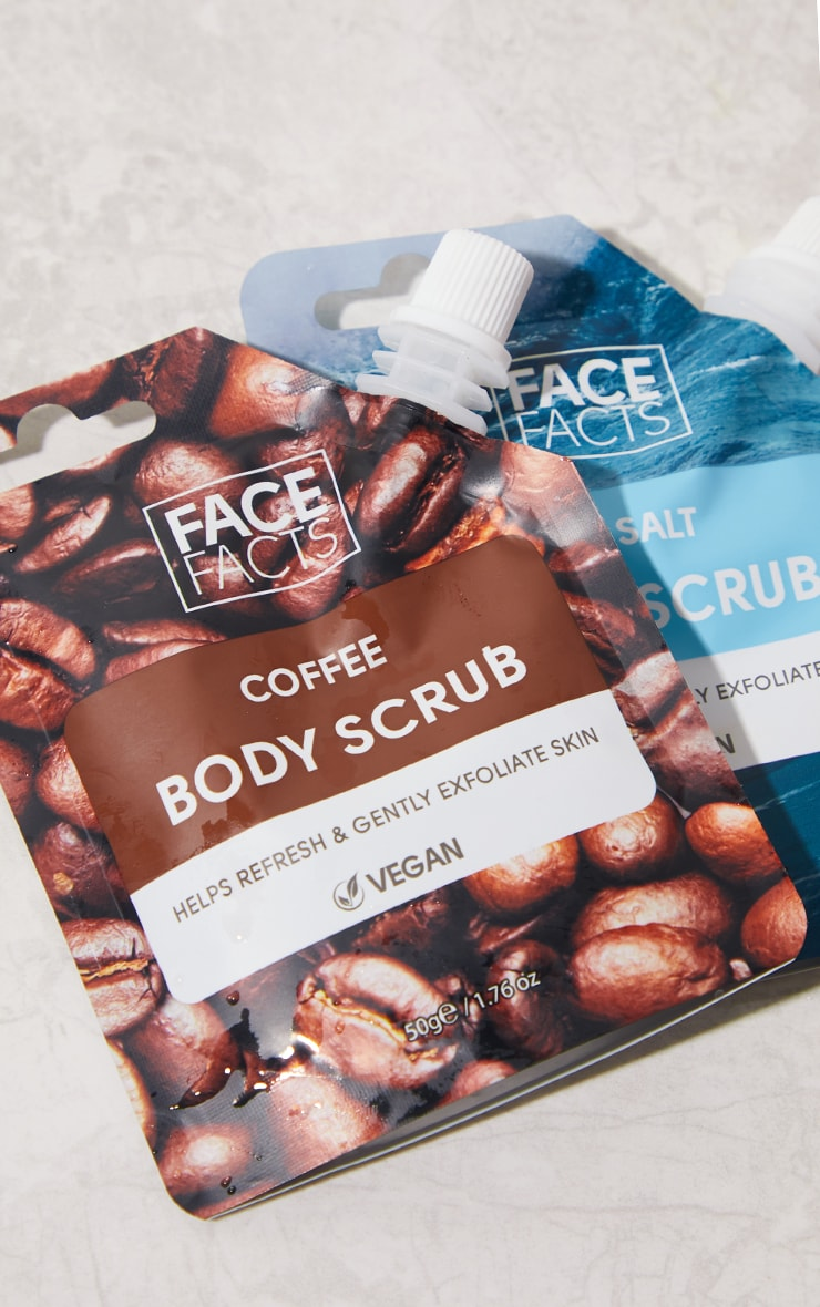 Face Facts Body Scrub Coffee 3
