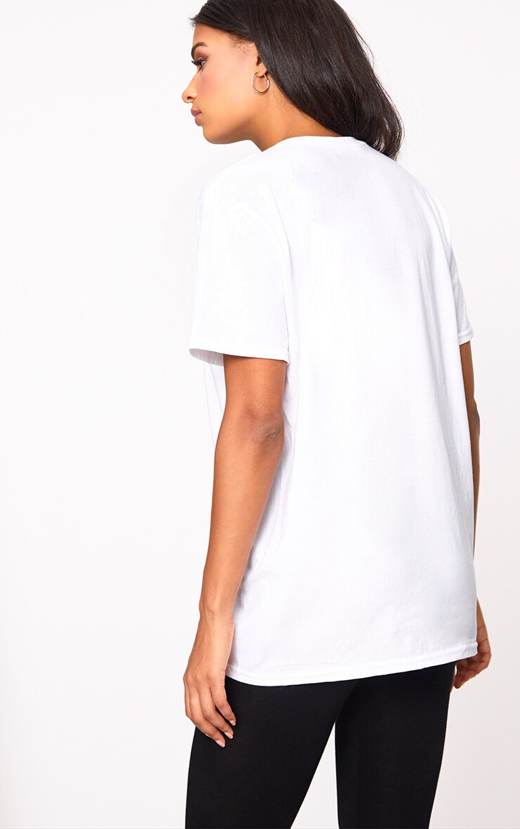 White Bee Manchester Charity T Shirt 2
