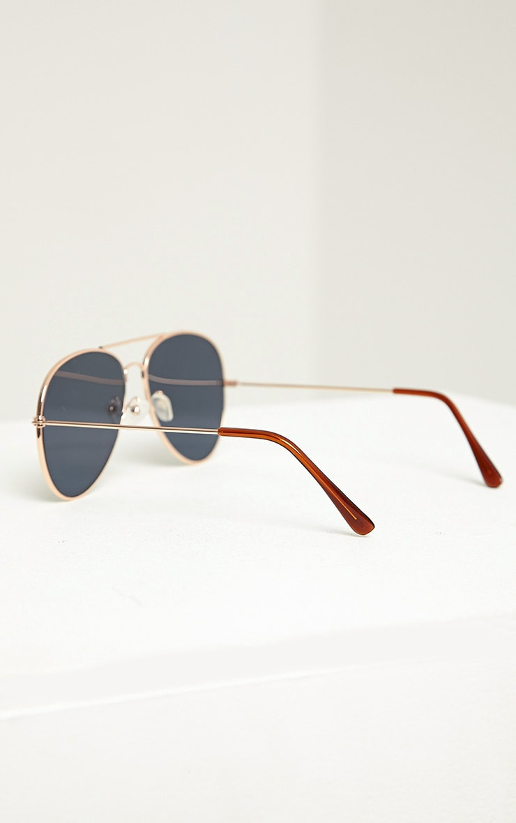 Tresa Green Lense Aviator Sunglasses 4