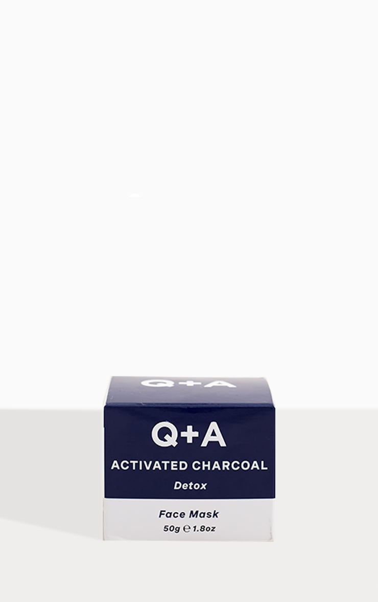 Q+A Activated Charcoal Face Mask 50g 2