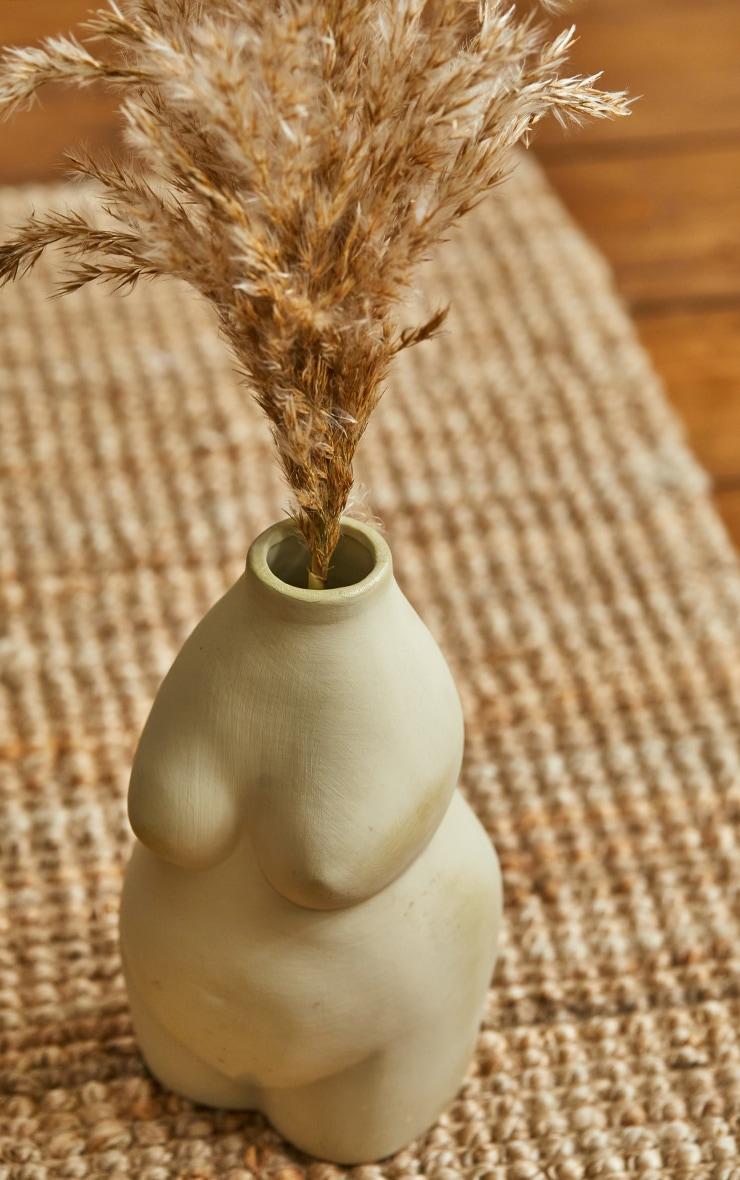 Stone Curvy Body Vase 2