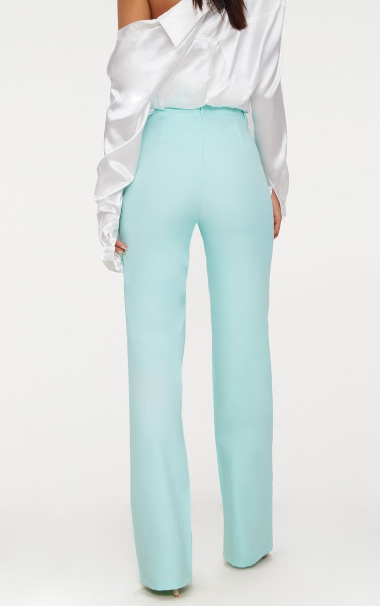 Mint High Waisted Straight Leg Pants 4