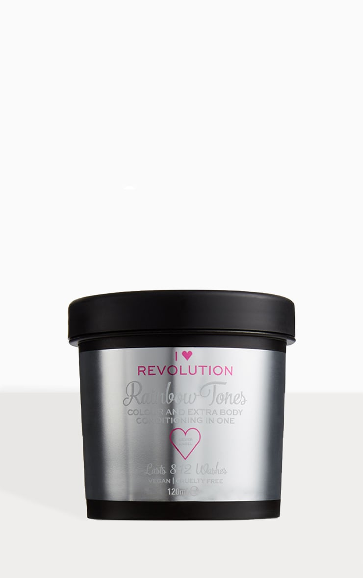 I Heart Revolution Rainbow Tones Hair Colour Silver Angel 1