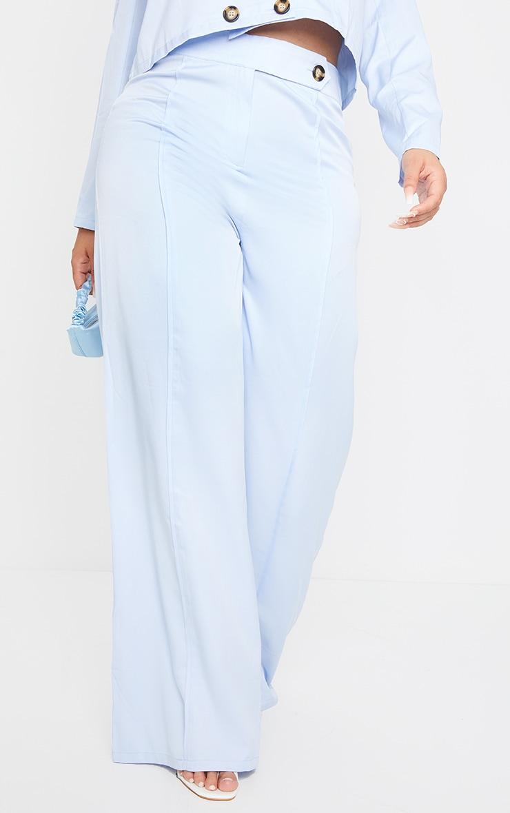 PLT Plus - Pantalon de tailleur bleu ciel 2