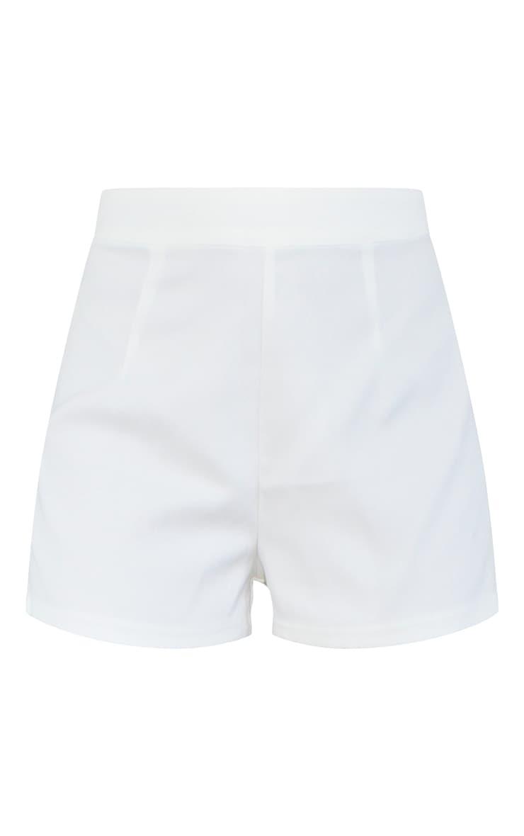 Petite Cream Suit Shorts 6