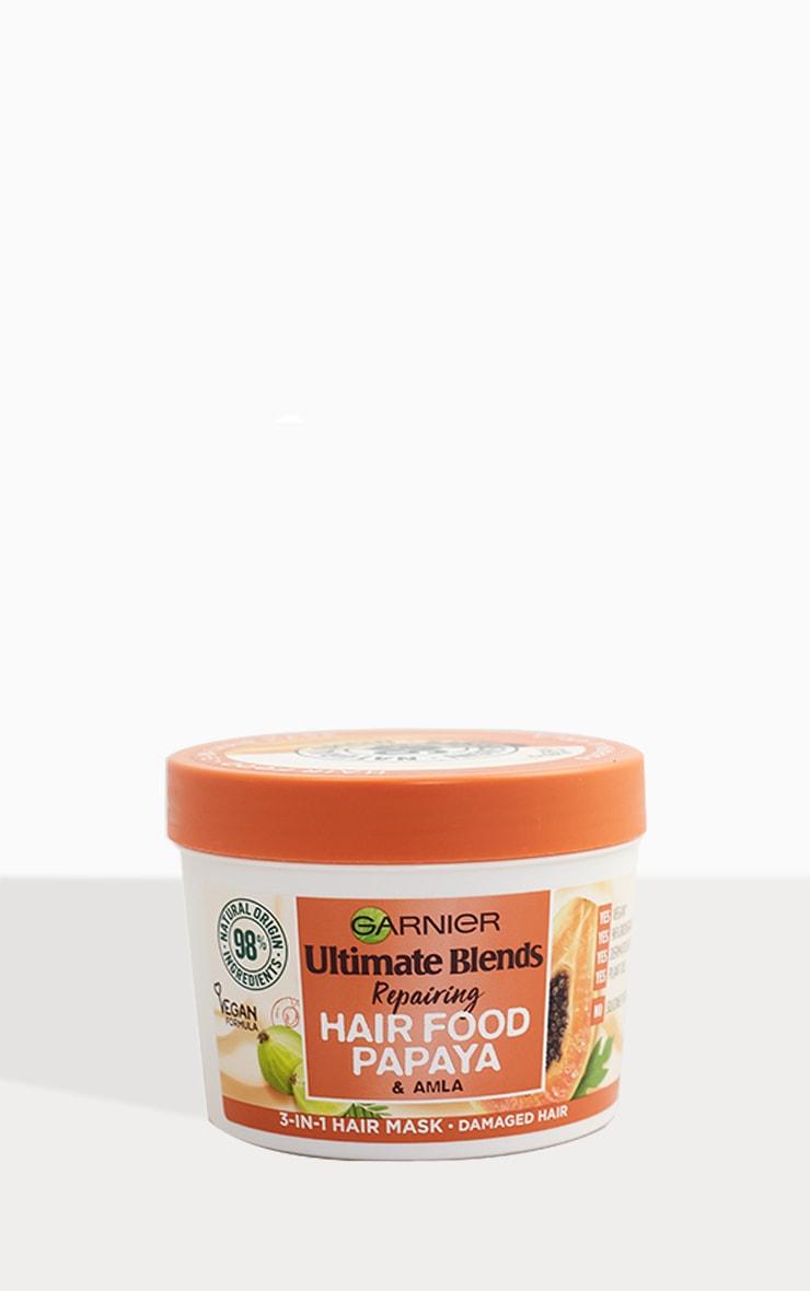 Garnier Ultimate Blends Hair Food Papaya 3-in-1 Damaged Hair Mask 2