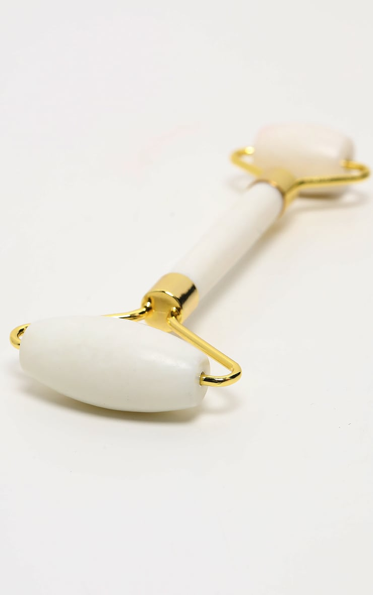 White Facial Massage Roller 2