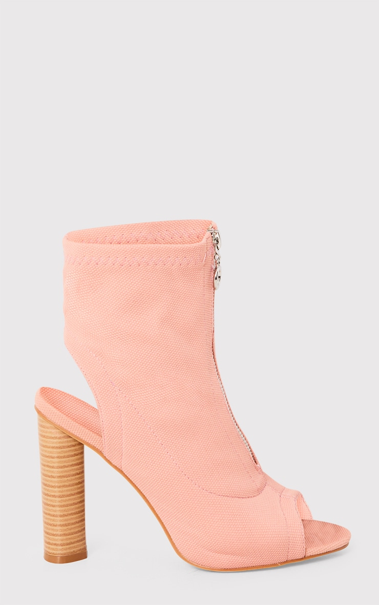 Gebriel Blush Ring Zip Sock Boots 4