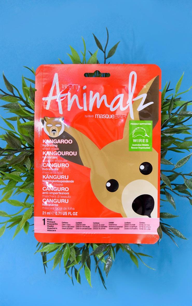 MasqueBAR Animalz Kangaroo Sheet Mask 1