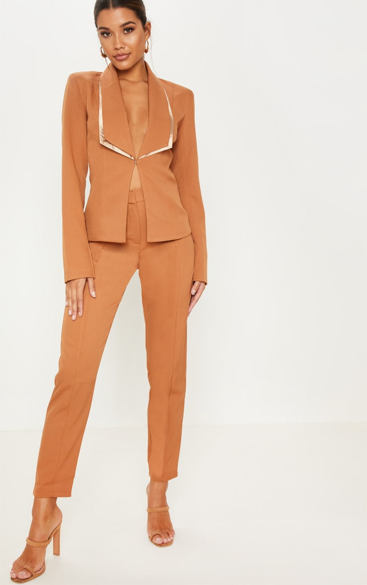 Camel Suit Jacket  4