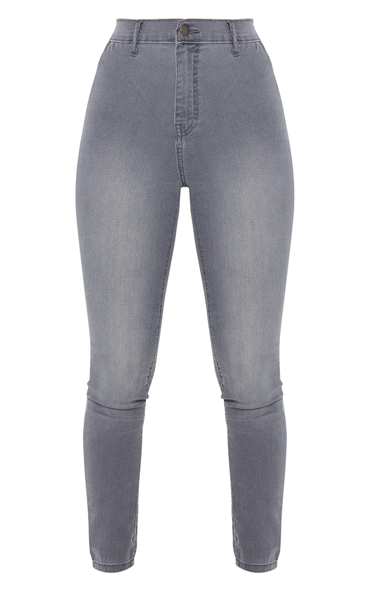 Grey Disco Fit Skinny Jean 5