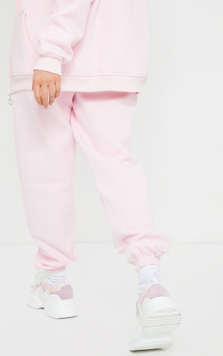 Petite Pink Pocket Thigh Casual Joggers 3