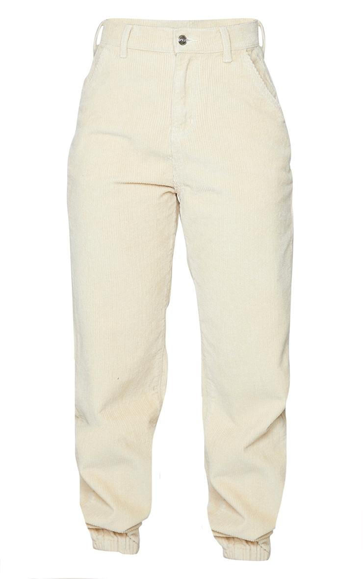 Stone Cord Cuffed Hem Pants 5