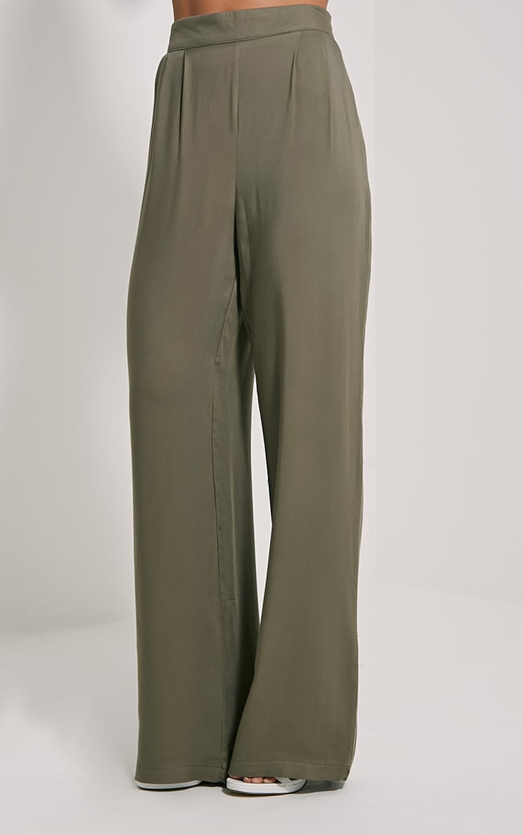Posey Khaki Relax Fit Trousers 3