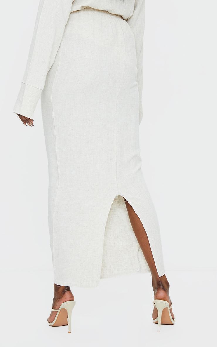Stone Woven Midi Skirt 3