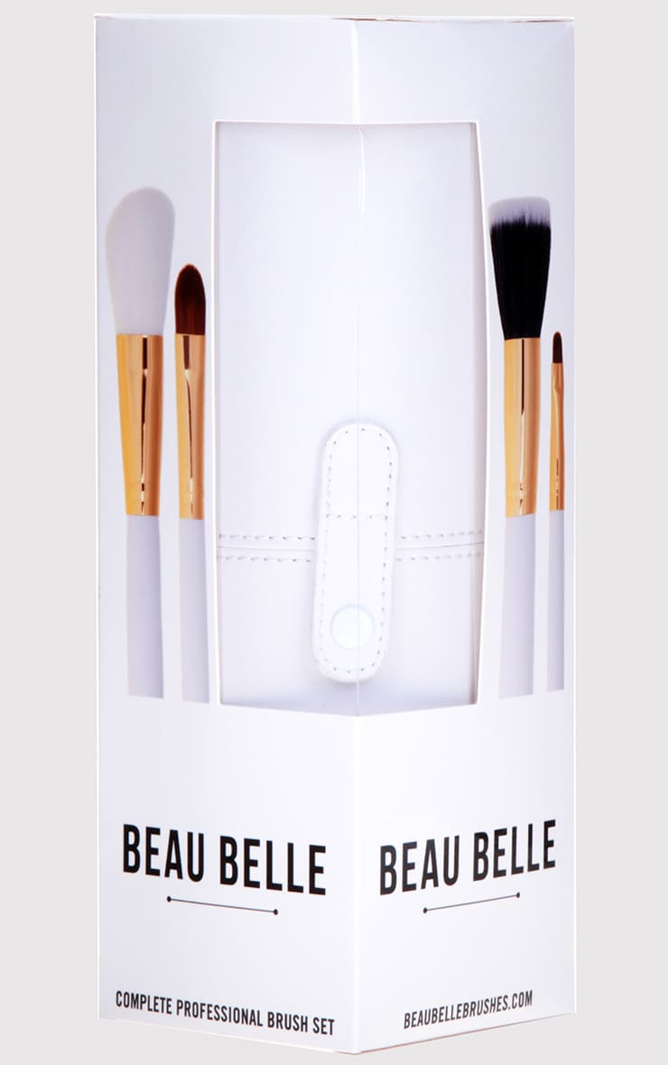 Beau Belle Brushes Gold Pot Set 6