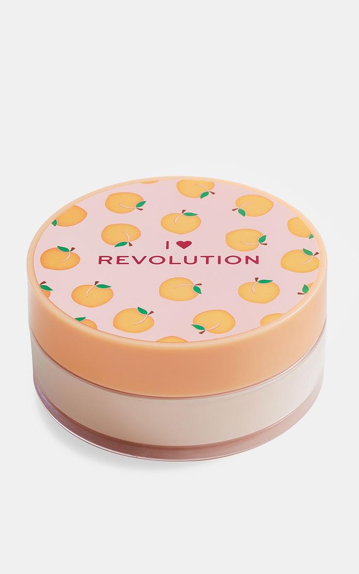 I Heart Revolution Loose Baking Powder Peach 2