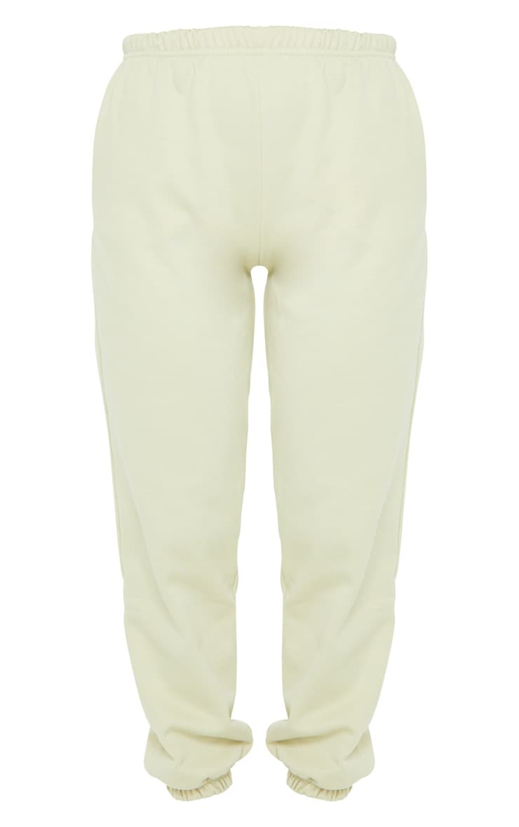 Pale Olive Casual Track Pants 5