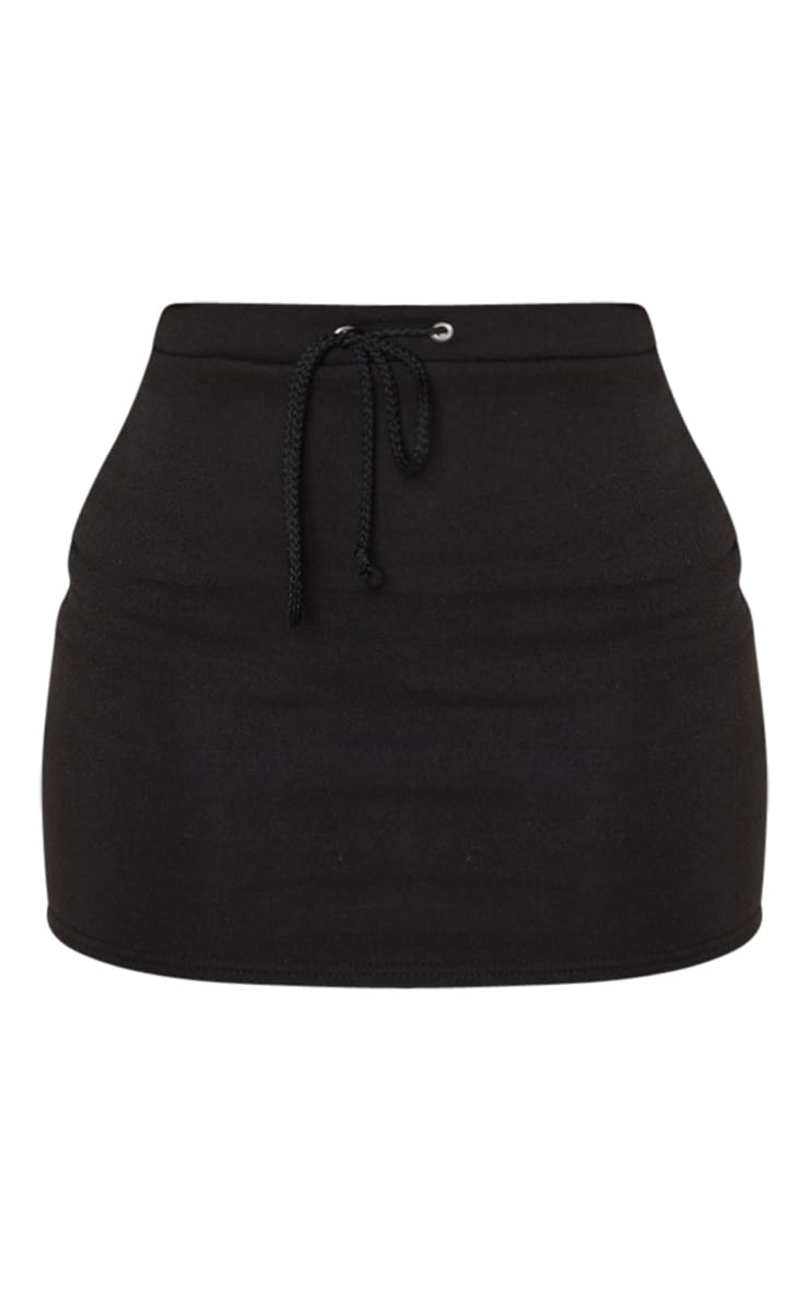Petite Black Sweat Skirt 3