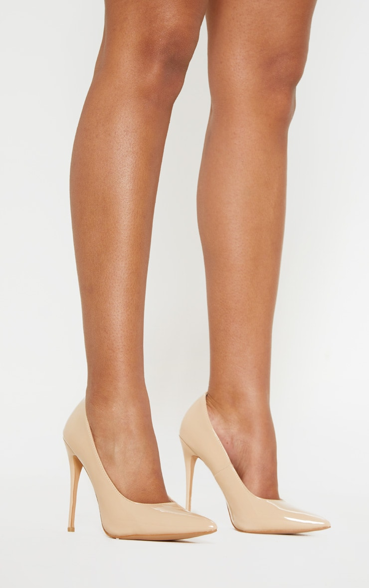 Pale Nude Court Shoes 3