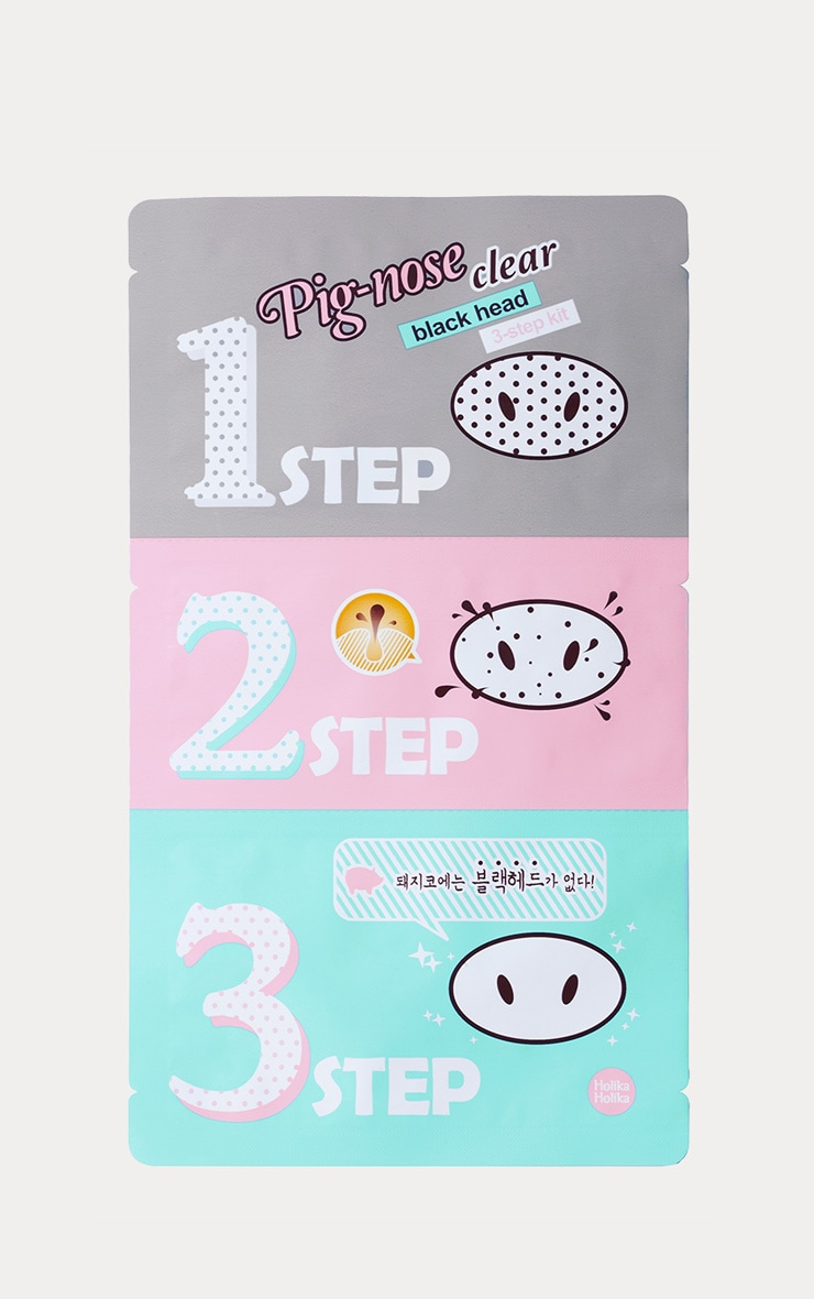 Holika Holika Blackhead Clearing Pig Nose 3 Step Kit 1