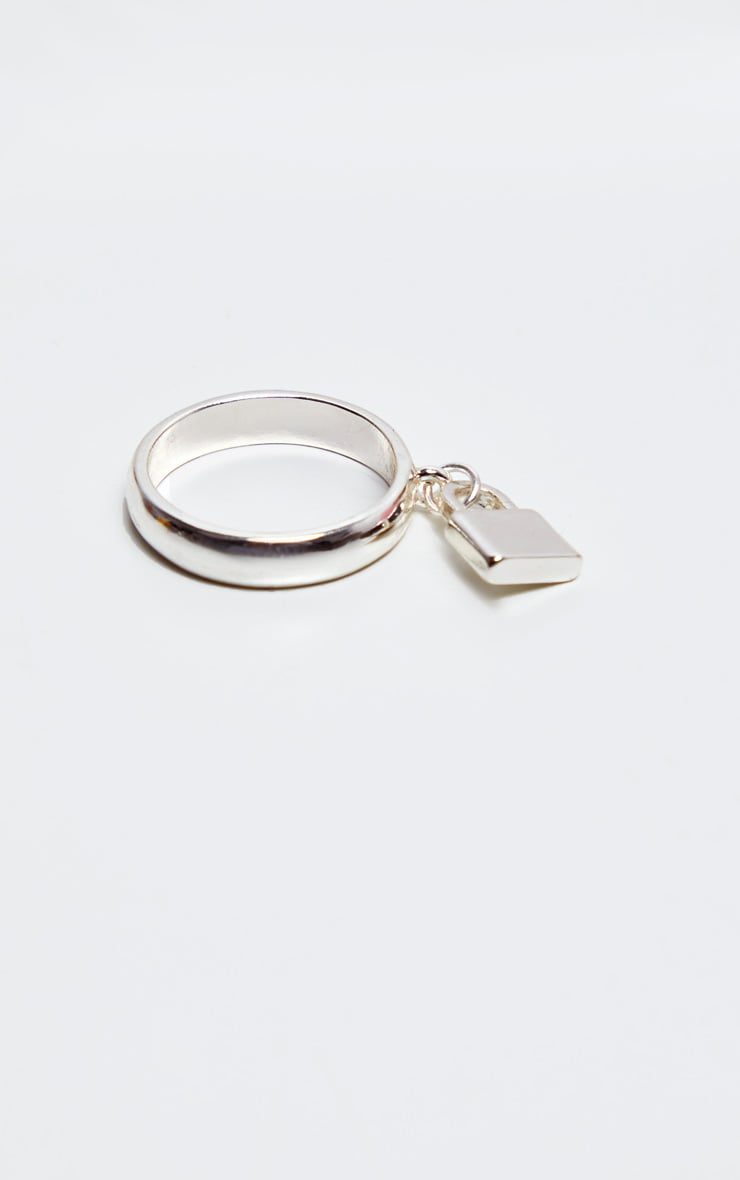 Silver Greek Key Two Pack Ring 3