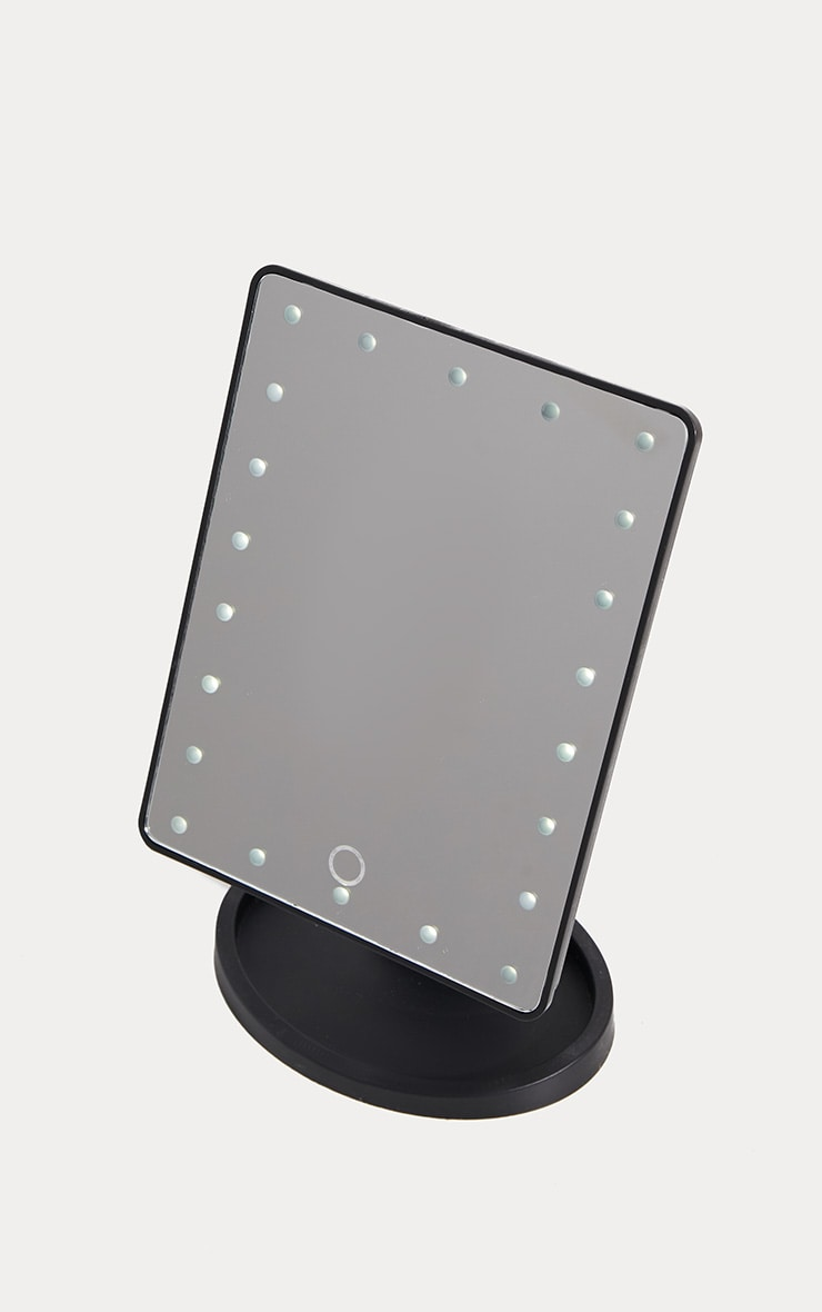 LED Vanity Mirror Black 2