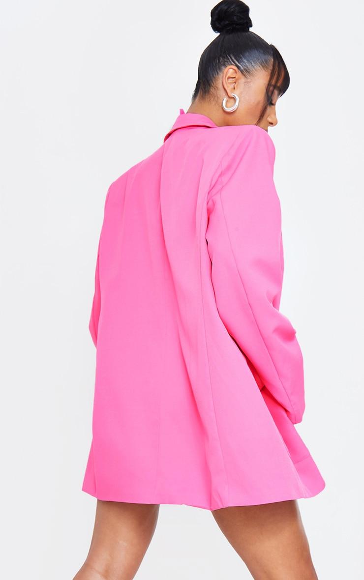 Pink Extreme Oversized Blazer 3