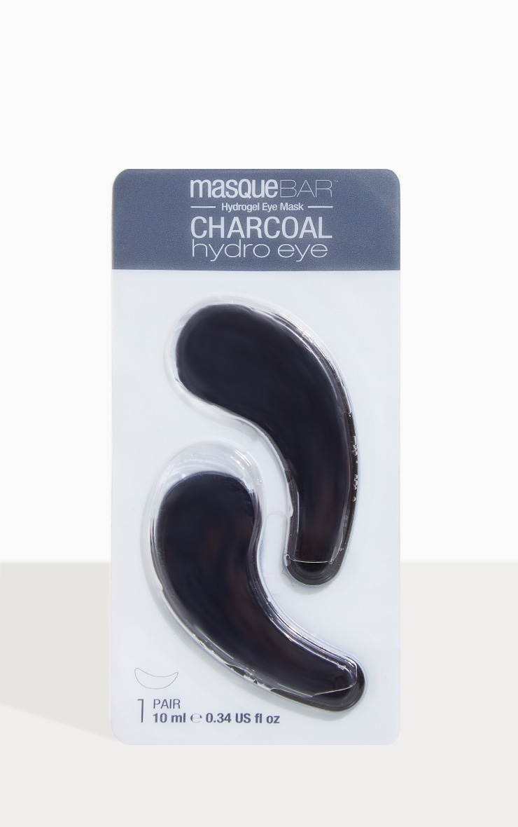 MasqueBar Charcoal Hydro Gel Eye Patches 1