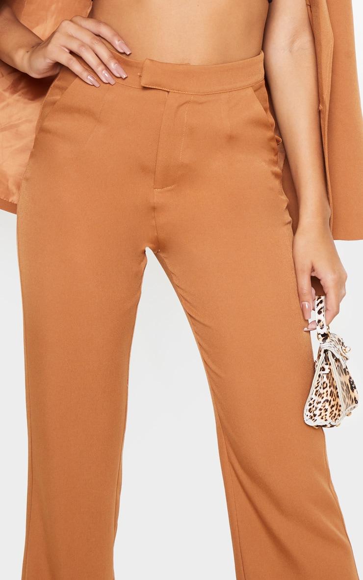 Camel Flared Pants  5