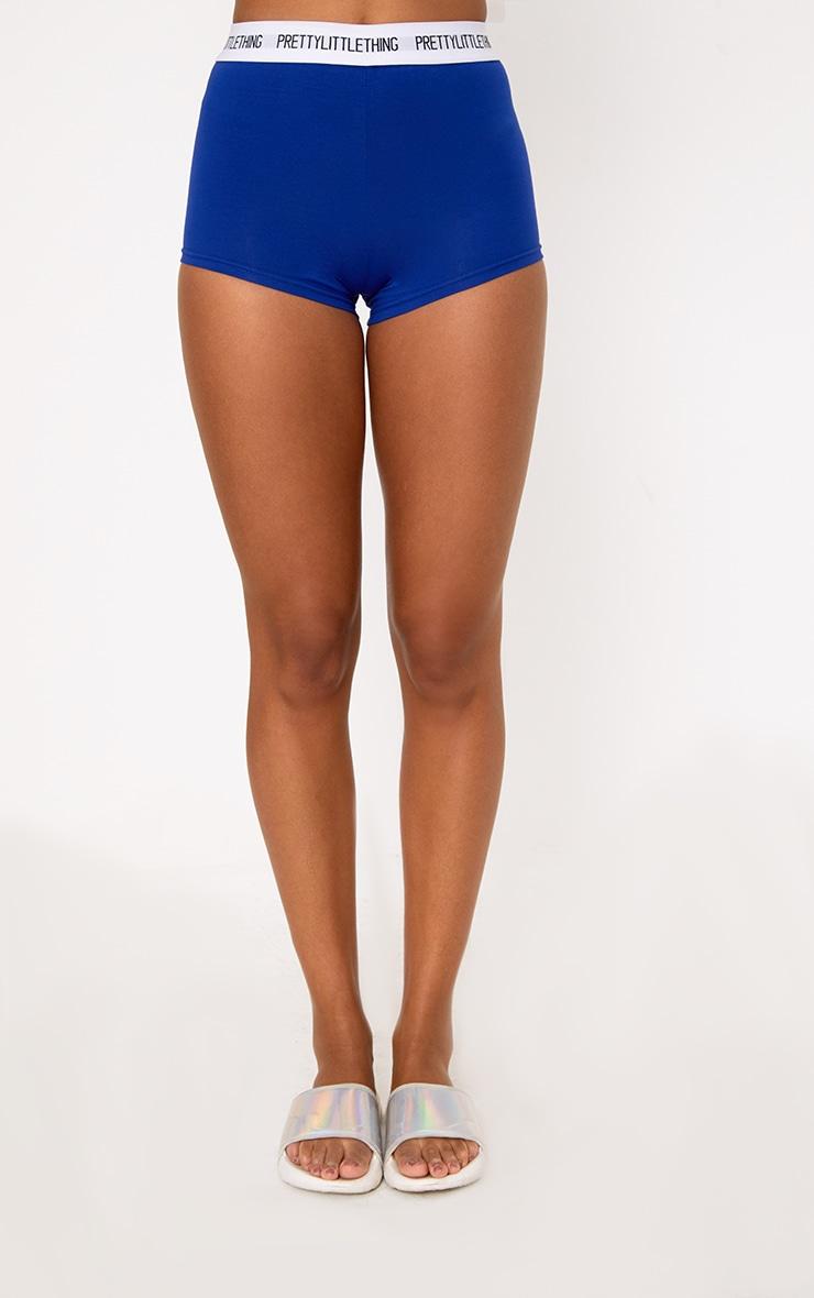 PRETTYLITTLETHING Cobalt Shorts 2