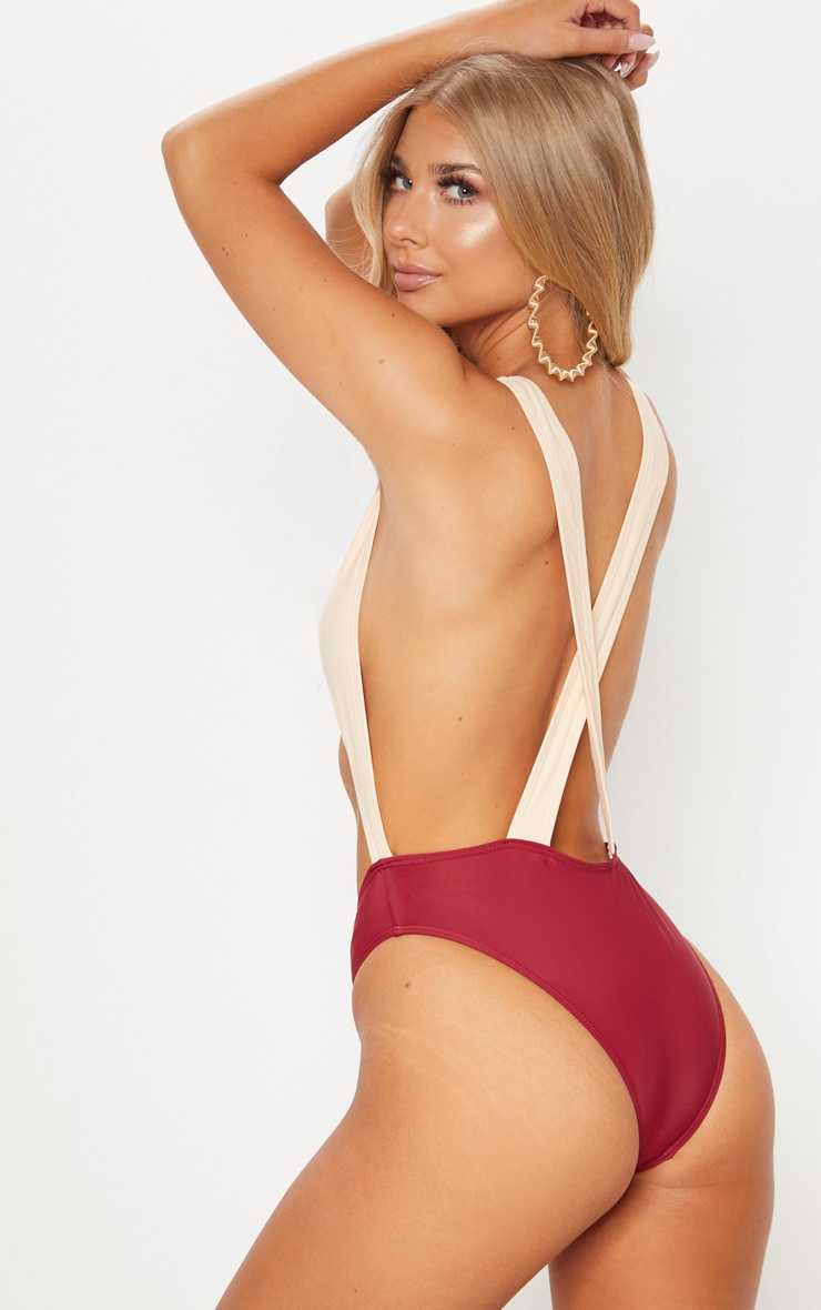 Gretchen Nude Cut Out Swimsuit