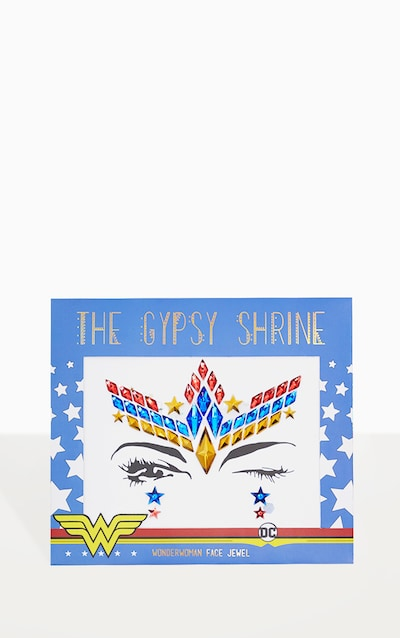 The Gypsy Shrine Wonder Woman Face Jewel