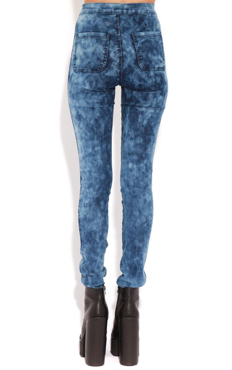 Annie Indigo Tie Dye Jeans 2