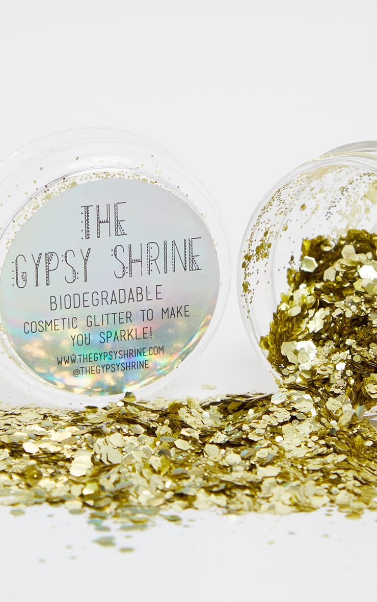 SHRINE Biodegradable Chunky Gold Glitter 1