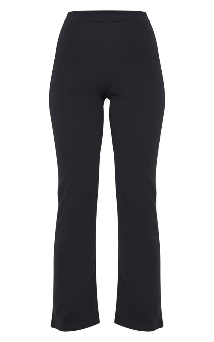 Petite Black Cropped Trousers 3