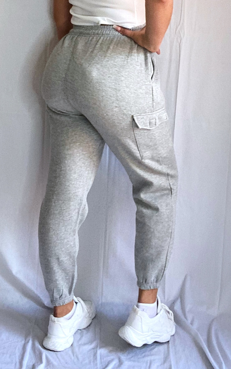 Plus Grey Pocket Detail Joggers 3