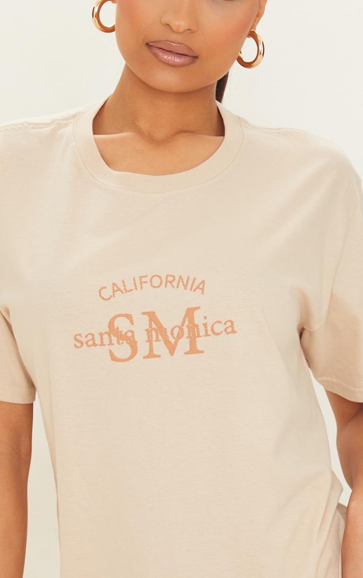 Sand Santa Monica T Shirt 4