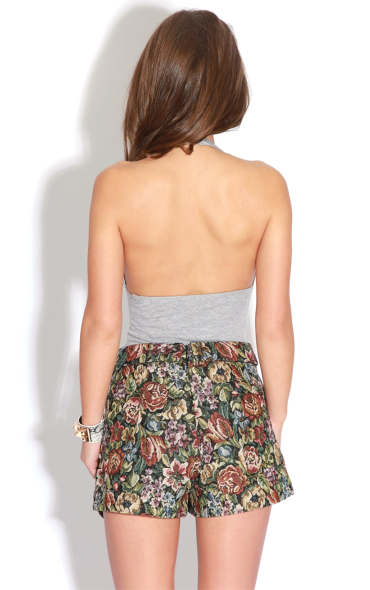 Sienna Floral Embroided Skort  2