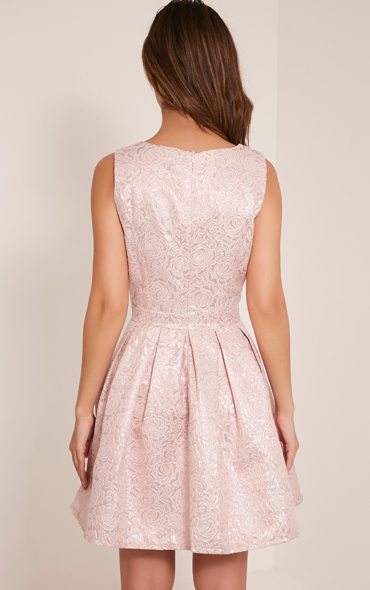 Tamzin Lilac Cut Out Baroque Prom Dress 2