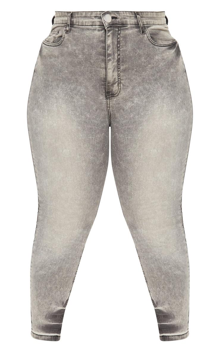 Plus Grey Skinny Jeans 3