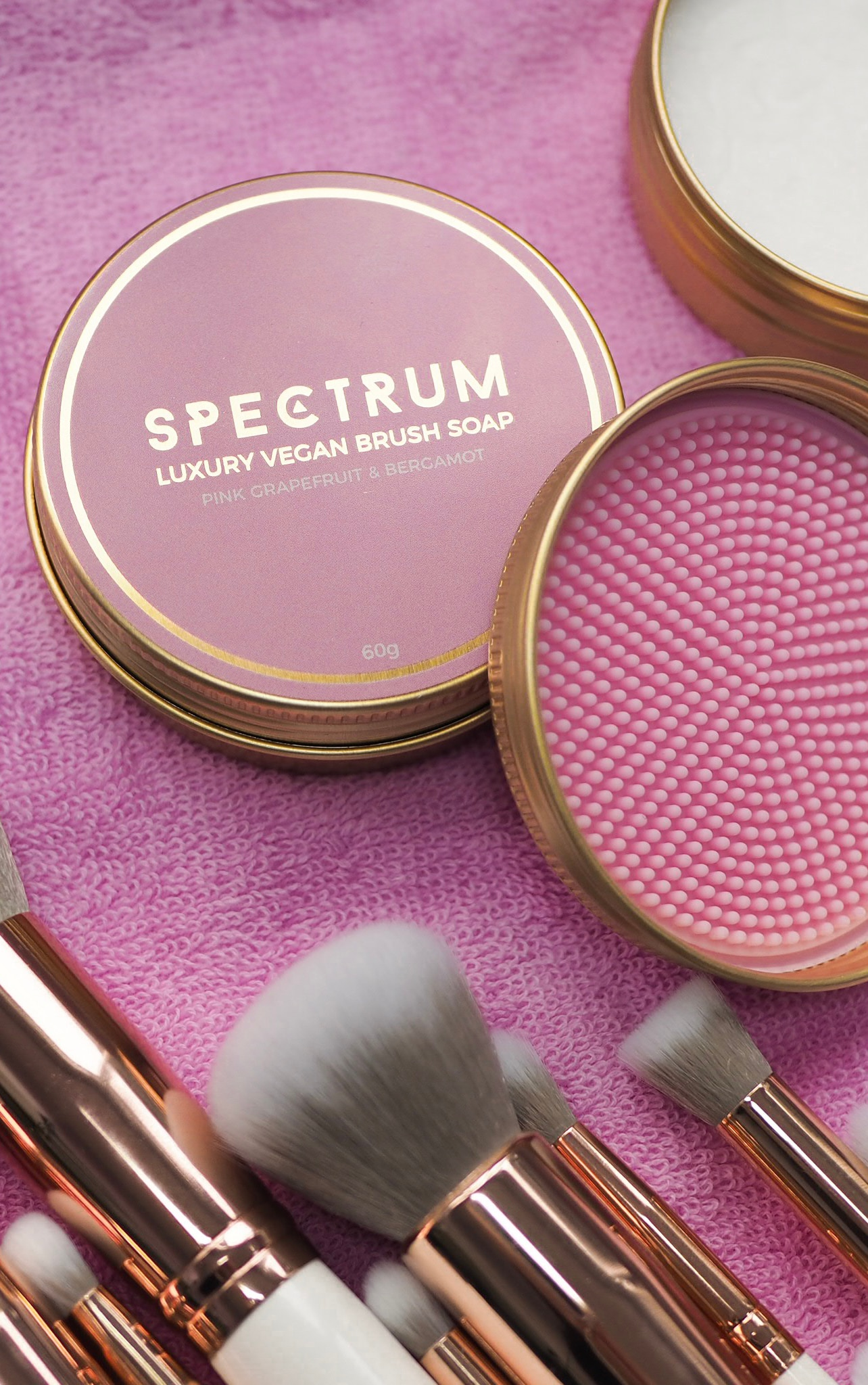 Spectrum Collections Millennial Bergamot and Grapefruit Brush Soap 5