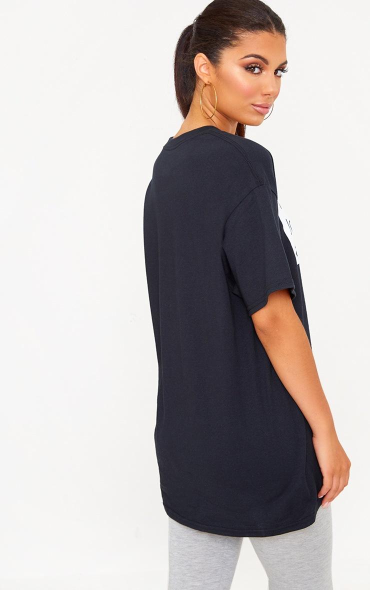 Charity Black I Love Manchester T Shirt 2