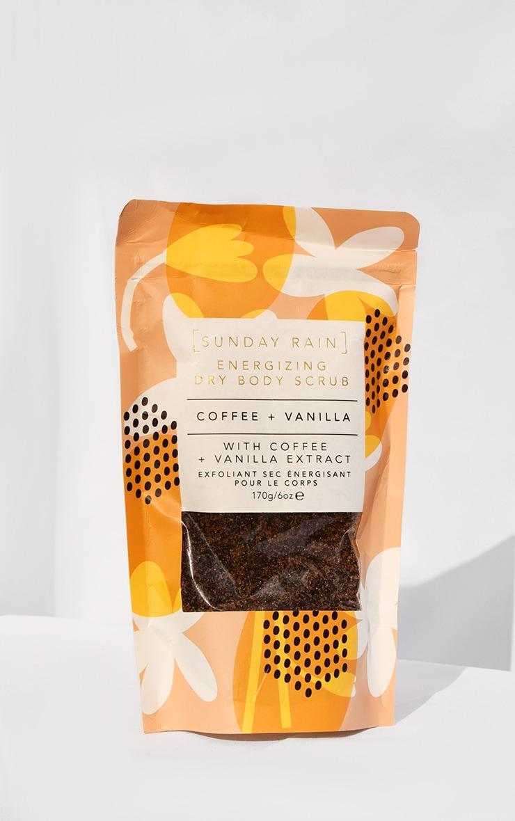 Sunday Rain Dry Body Scrub Coffee & Vanilla 1
