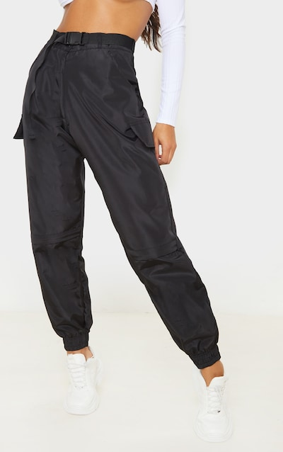 Black Shell Pocket Jogger