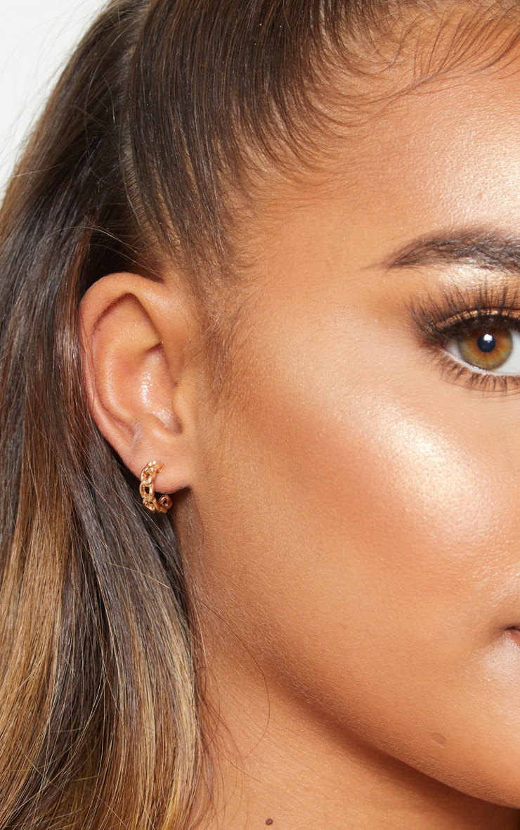 Gold Stud Earrings Multi Pack 2