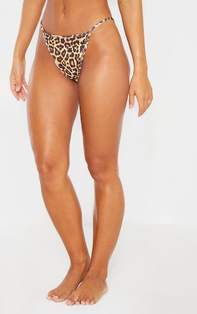 Leopard Mix & Match Itsy Bitsy Bikini Bottom